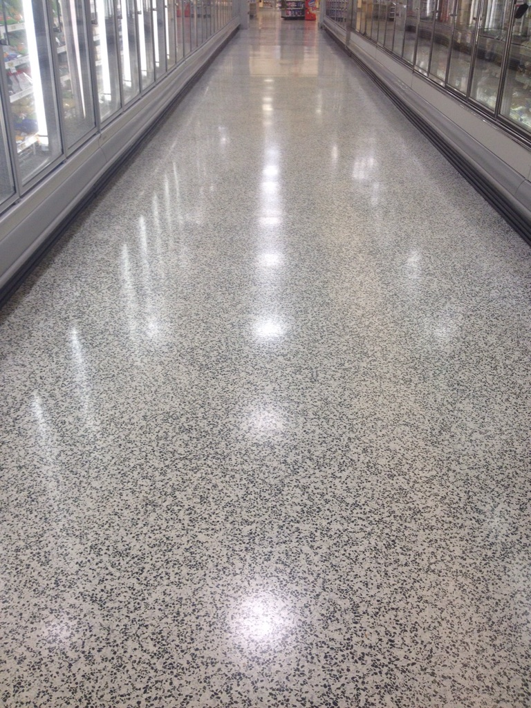 Diamond Amp Concrete Floor Polishing